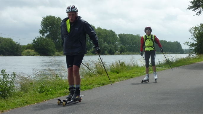 Rollerski-Normand : Question de style !